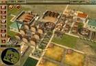 Strukturierte Stadt mit Grünflächen.